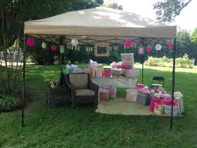 baby shower outdoor decorations