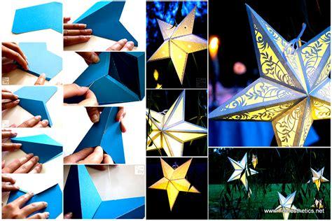 How To Make Home Interior Beautiful mindblowingly beautiful star shaped diy paper lanterns