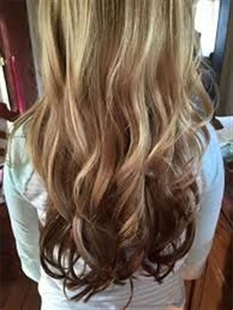 midlength blonde reverse ombre reverse ombre blonde to brown medium length hair curls