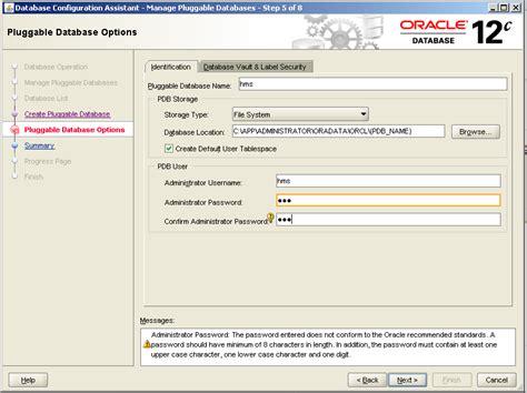tutorial oracle 12c oracle 12c tutorial create local user in oracle database