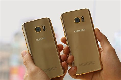 Samsung S8 Edge Gold Karalux Releases The Galaxy S7 And Galaxy S7 Edge In 24k