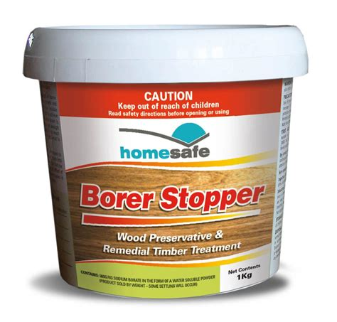 How To Treat Borer In Furniture by Borer Stopper Pest Homesafe Products