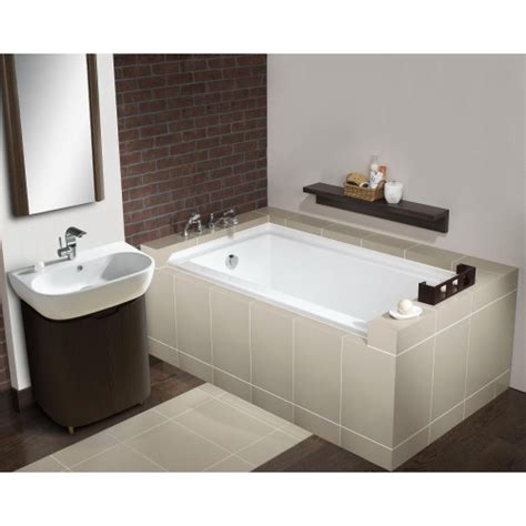 alcove bathtub lada laguna ld 532 soaking tub alcove installation