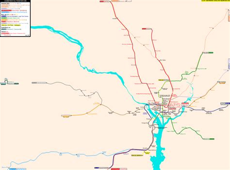 washington dc railroad map washington dc metro map memes
