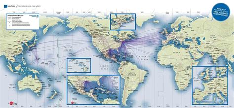 united route map united airlines destinations map