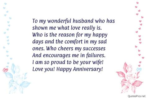 Wedding Quotes To Husband by Happy Anniversary To Husband Quotes Sayings