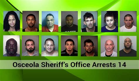 Osceola County Sheriff Arrest Records Osceola Sheriff S Office Arrests 14 In Bust