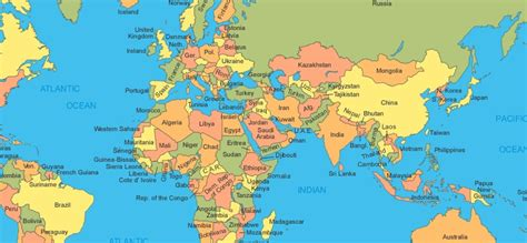 simple map of the world around the world the of simple