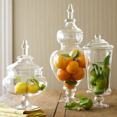 decorative glass jars for kitchen decorating with apothecary jars driven by decor