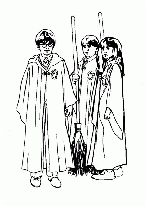 harry potter coloring pages deathly hallows free printable harry potter coloring pages for kids