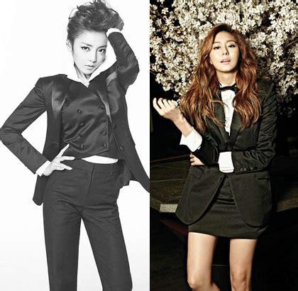 Setelan New Pop korean style til dengan setelan jas ala idola k pop wanita