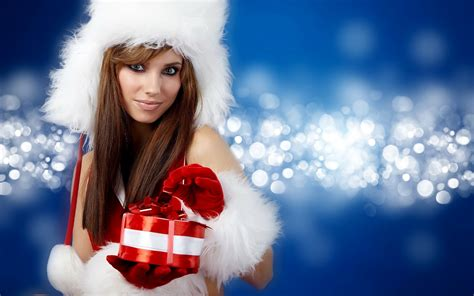 6 hd hot christmas girls images