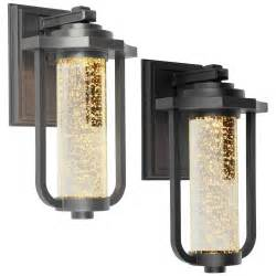 exterior led lighting artcraft ac9012 traditional 8 quot wide led