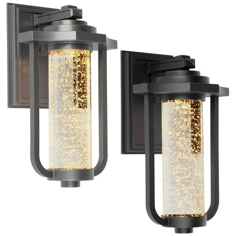Led Exterior Lighting Fixtures with Artcraft Ac9012 Traditional 8 Quot Wide Led Exterior Wall Light Fixture Ac9012