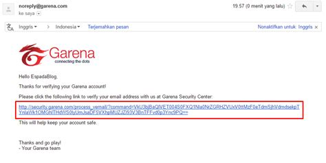 cara membuat akun point blank di garena cara verifikasi email akun garena indonesia terbaru