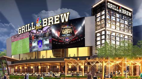 new details announced about how universal orlando s citywalk s nbc sports grill brew officially announced
