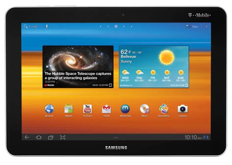 10 1 android tablet t mobile launches two new android tablets the springboard and galaxy tab 10 1