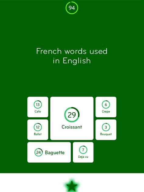 using french vocabulary 0521578515 appsandanswers 94 level 155 answers