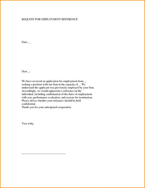sample recommendation letter for employment beerevents co picture