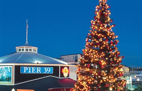 pier 39 tree lighting celebration saturday 2015 funcheap