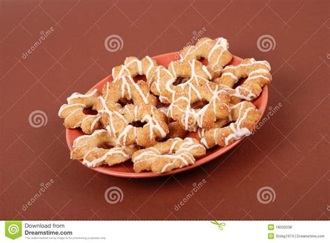 Mr Pat Glaz Cookies cookies with glaze on a plate royalty free stock photos image 18032038
