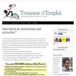 Conseils De Rédaction Lettre De Motivation Lettre De Motivation Qui Accroche Employment Application