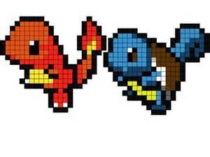 charmander pixel template pix for gt pixel squirtle template pixel