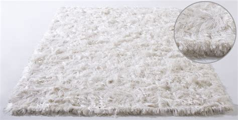 White Modern Rug Vibrissa White Shag Rug From The Shag Rugs Collection At Modern Area Rugs