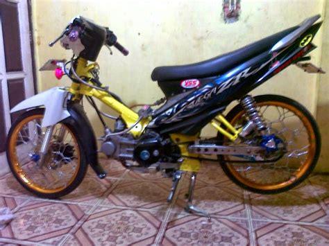 Modifikasi Zr Kuning by Modifikasi Motor Yamaha Zr Terbaru Foto Dan Gambar