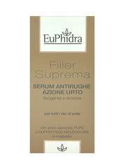 euphidra filler suprema crema antirughe euphidra cosmetici e prodotti di bellezza