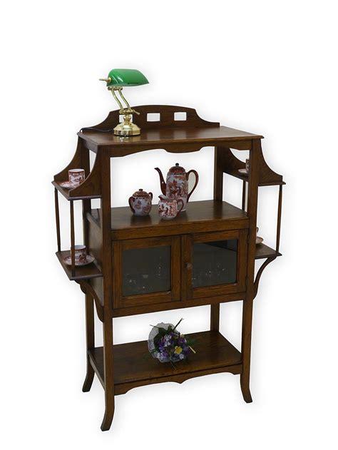regal jugendstil jugendstil vitrine mit regale schrank teeschrank um 1900