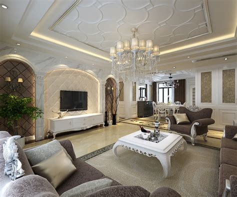 european living room european style living room ceiling renovation renderings