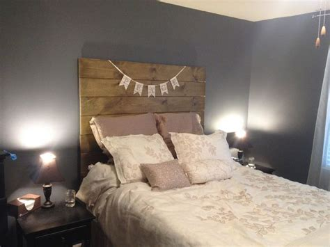 simple wooden headboard 40 easy diy headboard ideas for a stylish bedroom