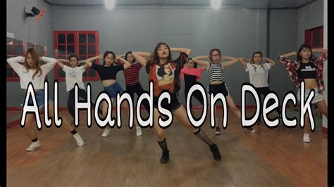 dance tutorial all hands on deck all hands on deck dance cover holicsso choreography