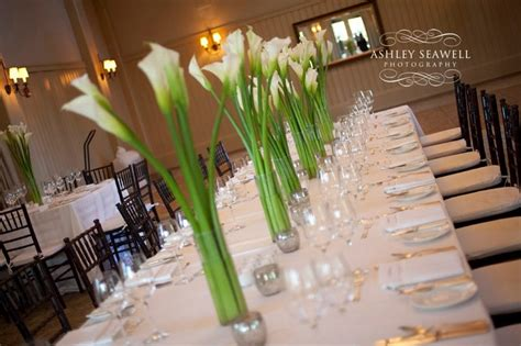palmetto bluff calla centerpieces weddings