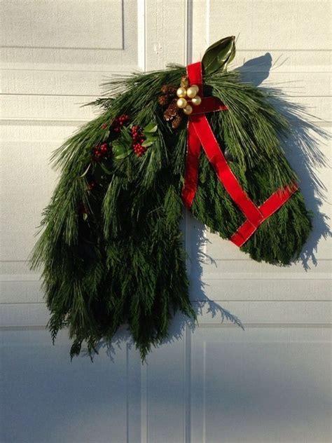 horse head wreath nature crafts pinterest inspiration head wreaths   love