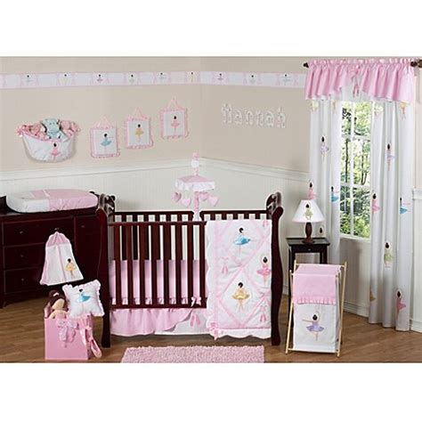 Sweet Jojo Designs Ballerina Crib Bedding Collection Ballerina Crib Bedding