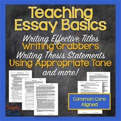 Esl School Thesis Statement Topics by Essay Process Lessons Writing Titles Topic Sentences