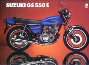 Suzuki Gs550e Suzuki Gs550e Brochure Scans
