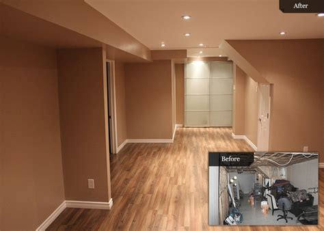 basement renos before and after rooms basement remodeling