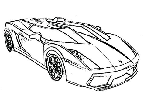 Lamborghini Coloring Pages Printable by Cool Cars Coloring Pages Lamborghini Car Drawings
