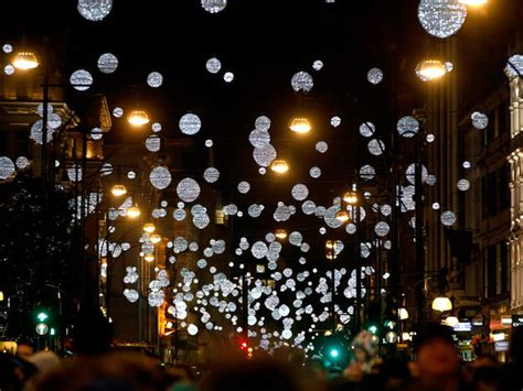 christmas lights in london christmas in london 2017