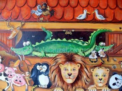 Pat Res Murales 736 by Cruzat Rojas Arca De No 233 Murales Infantiles