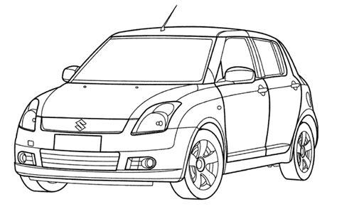 Coloriage Voiture Les Beaux Dessins De Transport 224 Coloriage Voiture Toyota A Imprimer L