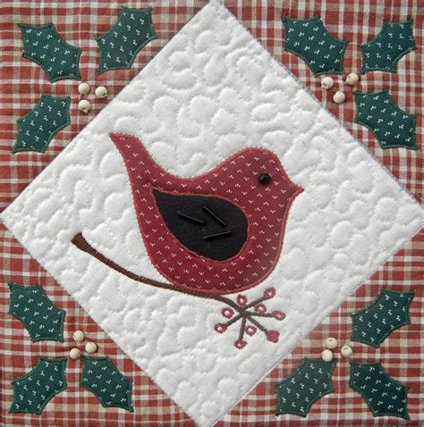 Quilted Wall by Ulla S Quilt World Quilted Bird Wall Hanging