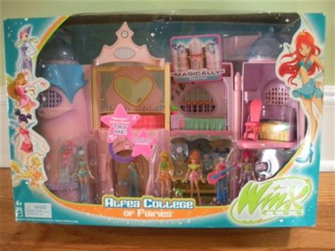 Winx Club Mini Fairies Castle Doll House Alfea College