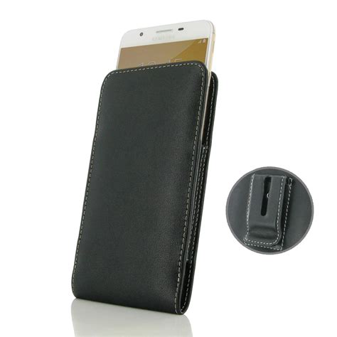 Mofi Leather Samsung Galaxy On7 samsung galaxy on7 2016 pouch with belt clip pdair