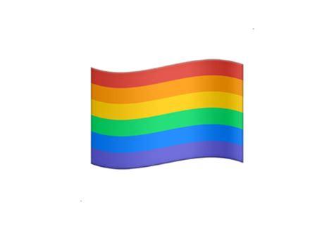 emoji flag apple finally releases a rainbow flag emoji pride com