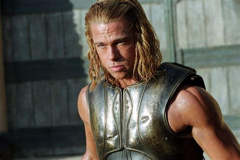 brad pitt achilles brad pitt as achilles we d time travel for these hot