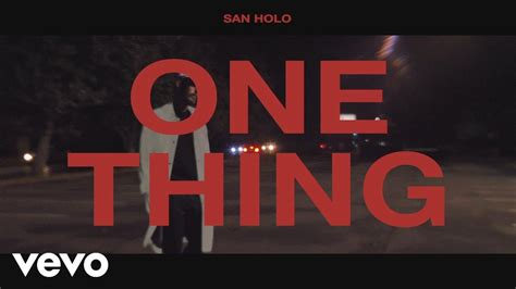 san holo midi san holo one thing official lyric video chords chordify